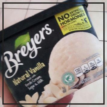 Breyers All Natural Vanilla Ice Cream uploaded by Desiree G.