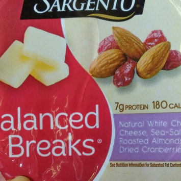 Photo of Sargento® Balanced Breaks® Natural White Cheddar Cheese with Almonds and Dried Cranberries uploaded by Teresa B.