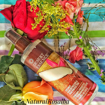 Photo of Desert Essence Coconut Hair Defrizzer and Heat Protector uploaded by Rosalba M.