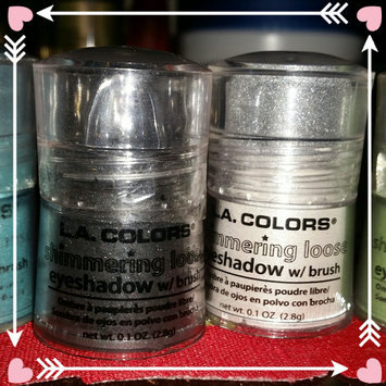 L.A. Colors Shimmering Loose Eye Shadow 111 Snow White uploaded by Stephania P.
