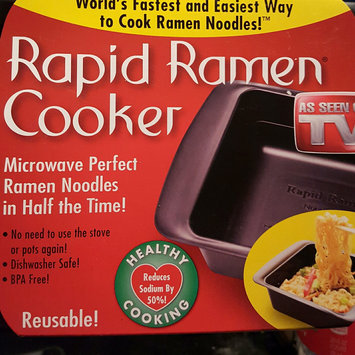 Rapid Ramen Noodle Cooker Black uploaded by Shonda P.