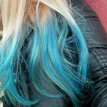 Photo of Crazy Color Semi Permanent Hair Color Cream Capri Blue No.44 100ml  uploaded by Chiara C.