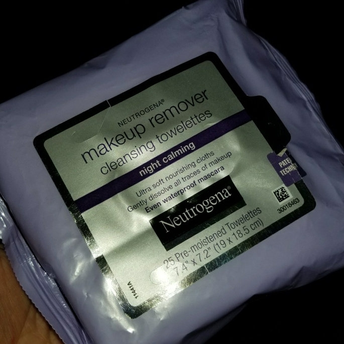Neutrogena Make-Up Remover Cleansing Towelettes Night Calming uploaded by Nury V.