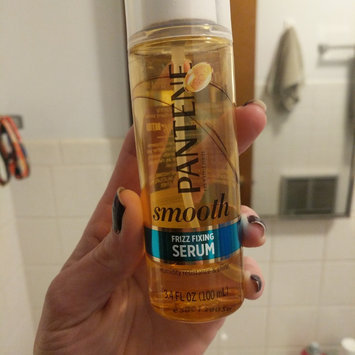 Smooth Treatment Pantene Smooth and Sleek Frizz Fixing Serum 3.4 fl oz uploaded by Nicole H.