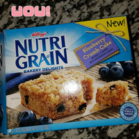 Kellogg's® Nutri-Grain® Bakery Delights Blueberry Crumb Cake uploaded by Alicia D.