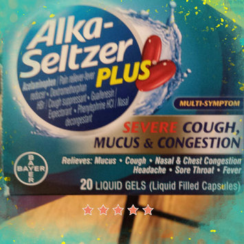Photo of Alka-Seltzer Plus Severe Cough, Mucus & Congestion Liquid Gels, 20 ea uploaded by Bev M.