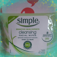 Simple® Cleansing Facial Wipes uploaded by Kaitlyn S.