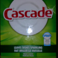 Cascade Powder Dishwasher Detergent, Fresh Scent 75 Oz uploaded by Dani B.
