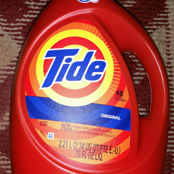 Photo of Tide Original Scent HE Turbo Clean Liquid Laundry Detergent uploaded by Dani B.