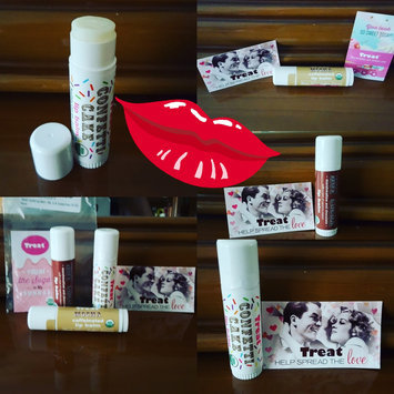 Photo of TREAT© Jumbo Lip Balm - Marshmallow Cream, Organic & Cruelty Free (.50 OZ) uploaded by Destiny J.