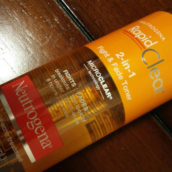 Photo of Neutrogena Rapid Clear 2-in-1 Fight & Fade Toner uploaded by Samantha B.