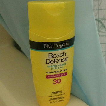 Neutrogena Beach Defense Broad Spectrum Sunscreen Lotion uploaded by Angelica G.