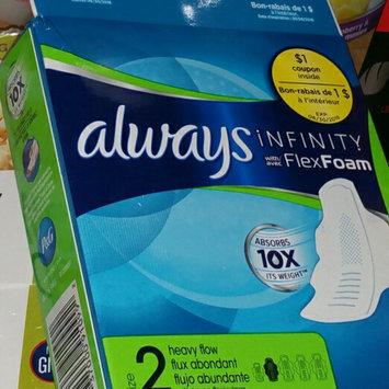 Always® Infinity™ uploaded by Katie l.