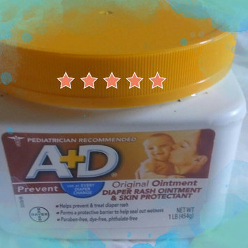 A+D® Original Diaper Rash Ointment & Skin Protectant 1 lb. Tub uploaded by Beat C.