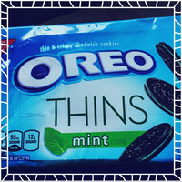 Oreo Thins Chocolate Sandwich Cookies uploaded by nafia c.