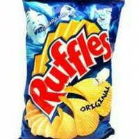 Ruffles Potato Chips, Authentic Barbecue Flavored, 9.5 oz (269.3 g) uploaded by Patrícia R.
