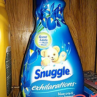 Snuggle® Exhilarations® Blue Iris & Bamboo Silk® Concentrated Fabric Softener 50 fl. oz. Bottle uploaded by Bethany W.