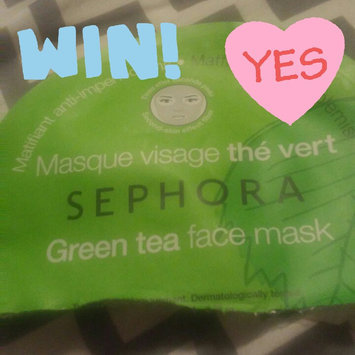 Photo of SEPHORA COLLECTION Face Mask Green Tea Mattifying & Anti-blemish uploaded by Tracie C.