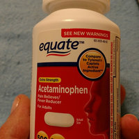 Equate Extra Strength Fever Reducer Pain Reliever Acetaminophen uploaded by Sharon K.