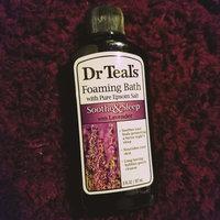 Dr. Teal's Foaming Bath, Soothe & Sleep with Lavender 34 fl oz uploaded by Heidi B.