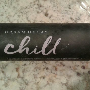 Urban Decay Chill Cooling and Hydrating Makeup Setting Spray 4 oz/ 118 mL uploaded by Summer B.