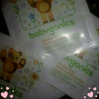 BabyGanics Alcohol Free Hand Sanitizer Wipes, Light Citrus Scent, 75-Count uploaded by Angelica M.