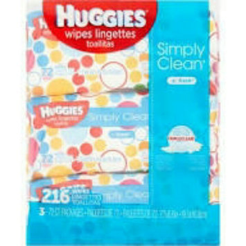 Huggies® Simply Clean Baby Wipes uploaded by diana i.
