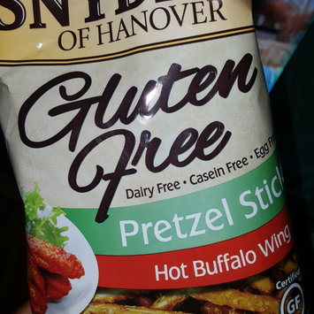 Photo of Snyder's of Hanover Gluten Free Pretzel Sticks Hot Buffalo Wing uploaded by Camella B.