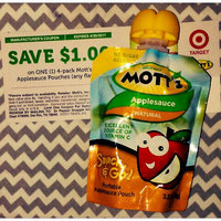 Mott's Applesauce Pouches uploaded by Brandi S.
