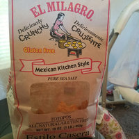 El Milagro Mexican Kitchen Style Tortilla Chips Sea Salt uploaded by Melissa S.