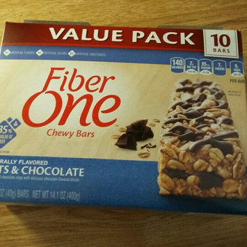 Fiber One Oats & Chocolate Chewy Bars uploaded by Brandy H.