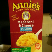 Annie's® Homegrown Lower Sodium Mac & Cheese uploaded by Kacy S.