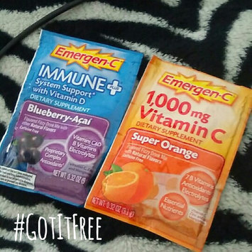 Photo of Emergen-C Immune+ System Support* with Vitamin D Blueberry-Acai uploaded by Destiny L.