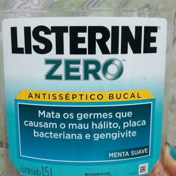 Photo of LISTERINE® Zero® Mouthwash Clean Mint uploaded by Andrele d.