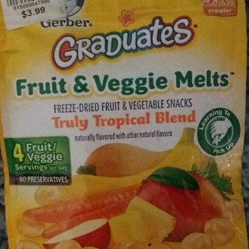 Photo of Gerber® Graduates® Fruit & Veggie Melts™ Snack Truly Tropical Blend uploaded by Alanna C.