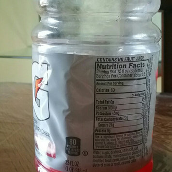 Gatorade Fruit Punch Sports Drink 32 oz uploaded by zip w.