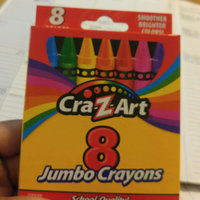 Cra-Z-Art 8 Count Assorted Colors Jumbo Crayons uploaded by Jacquin S.
