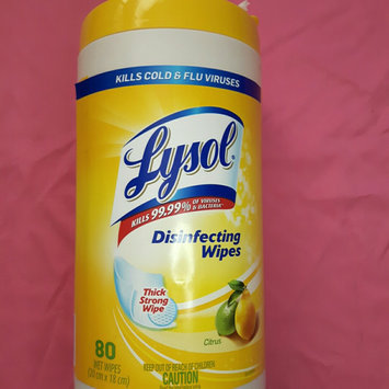 Lysol Disinfecting Wipes - Lemon uploaded by Maya D.
