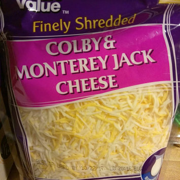 Great Value Finely Shredded Colby & Monterey Jack Cheese, 16 oz uploaded by Unique W.