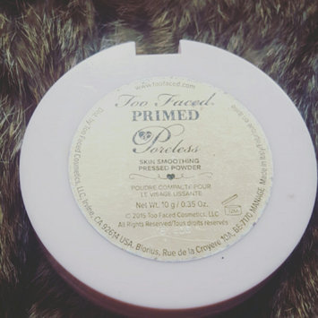 Photo of Too Faced Primed & Poreless Powder uploaded by Ticotti C.