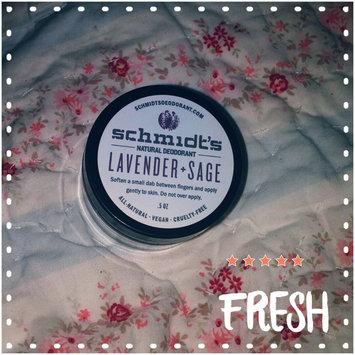 Schmidt's Deodorant Lavender + Sage Deodorant uploaded by Darby S.