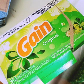 Photo of Gain® Original Fabric Softener Sheets 34 ct Box uploaded by keren a.