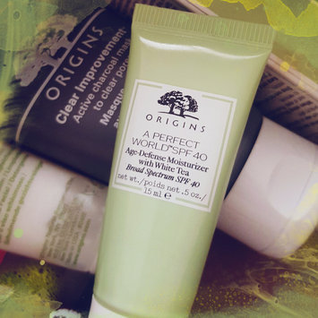 Origins A Perfect World SPF 25 Age-Defense Moisturizer with White Tea uploaded by Rose R.