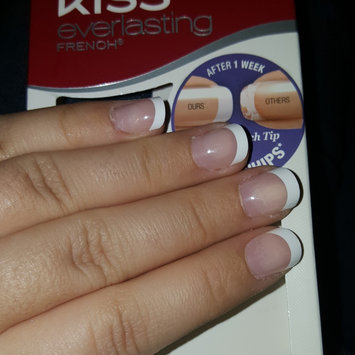 Kiss Everlasting French Pearl French Tip Nails Real Short Length - 28 CT uploaded by Antonia M.