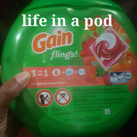 Gain Flings Tropical Sunrise Scent Laundry Detergent Pacs uploaded by Keiondra J.