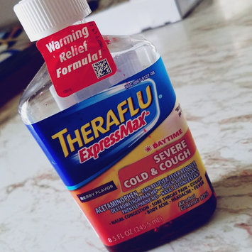Photo of Theraflu® ExpressMax™ Daytime Berry Flavor Severe Cold & Cough Liquid 8.3 fl. oz. Bottle uploaded by keren a.