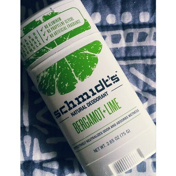 Schmidt's Bergamot + Lime Natural Deodorant uploaded by Shawna R.