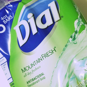 Photo of Dial All Day Freshness Mountain Fresh Antibacterial Deodorant Soap Bars - 3 CT uploaded by keren a.