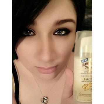 Hawaiian Tropic Silk Hydration Sunscreen Face Lotion with SPF 30 - 1. uploaded by Dani B.