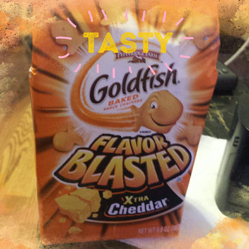 Photo of Goldfish® Flavor Blasted Xtra Cheddar Baked Snack Crackers uploaded by Bev M.